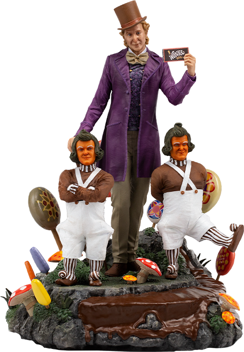 Iron Studios Willy Wonka Deluxe 1:10 Scale Statue