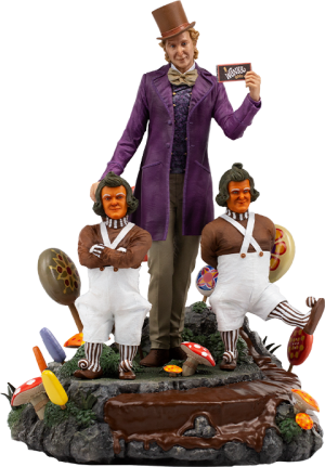 Willy Wonka Deluxe 1:10 Scale Statue