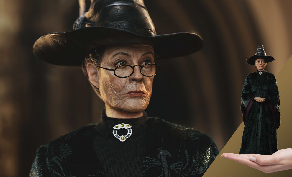 Gallery Feature Image of Minerva McGonagall Sixth Scale Figure - Click to open image gallery