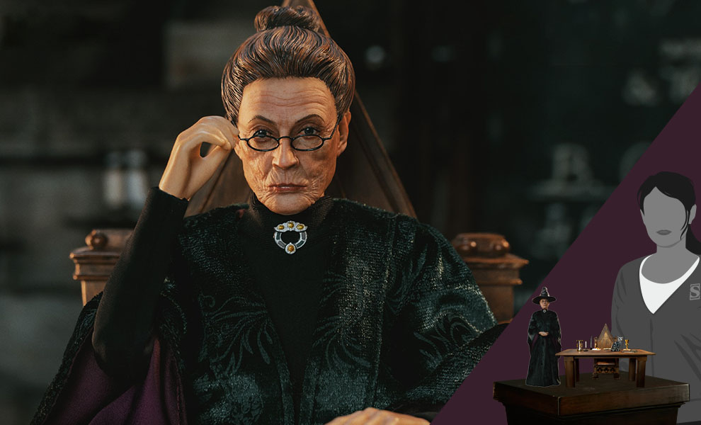 Gallery Feature Image of Minerva McGonagall (Deluxe Version) Sixth Scale Figure - Click to open image gallery