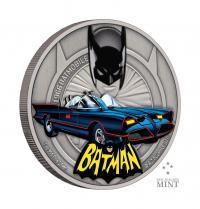 Gallery Image of 1966 Batmobile 1oz Silver Coin Silver Collectible