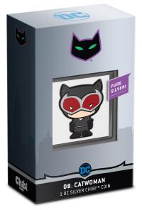 Gallery Image of Catwoman Silver Coin Silver Collectible