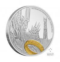 Gallery Image of Sauron Silver Coin Silver Collectible