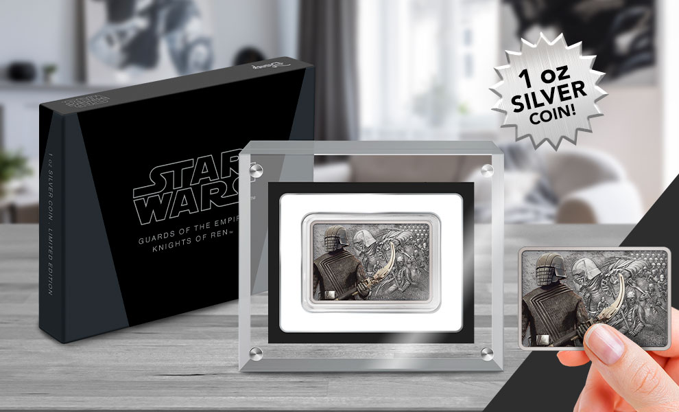 Gallery Feature Image of Knights of Ren Silver Coin Silver Collectible - Click to open image gallery