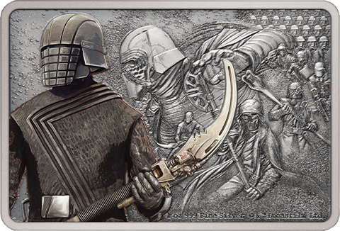 New Zealand Mint Knights of Ren Silver Coin Silver Collectible