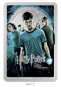 Gallery Image of Harry Potter and the Order of Phoenix Silver Coin Silver Collectible