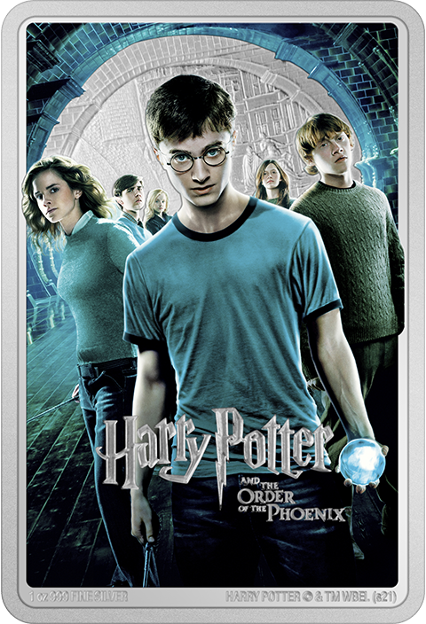 New Zealand Mint Harry Potter and the Order of Phoenix Silver Coin Silver Collectible