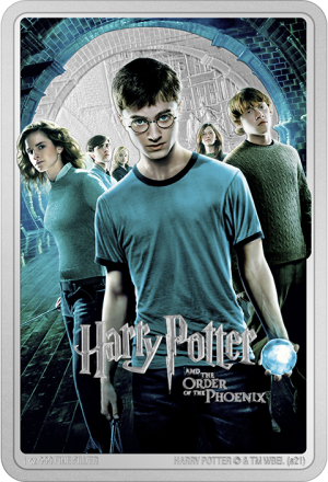 Harry Potter and the Order of Phoenix Silver Coin Silver Collectible