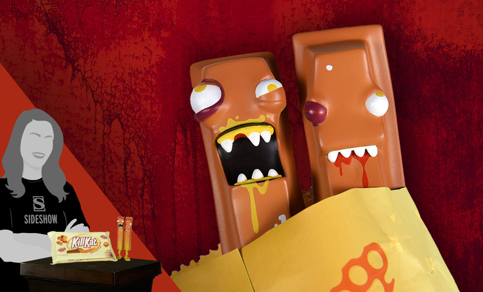 Gallery Feature Image of Kill Kat Assaulted Caramel Vinyl Collectible - Click to open image gallery