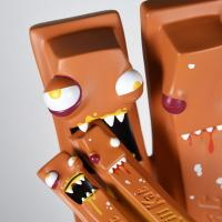 Gallery Image of Kill Kat Assaulted Caramel Vinyl Collectible
