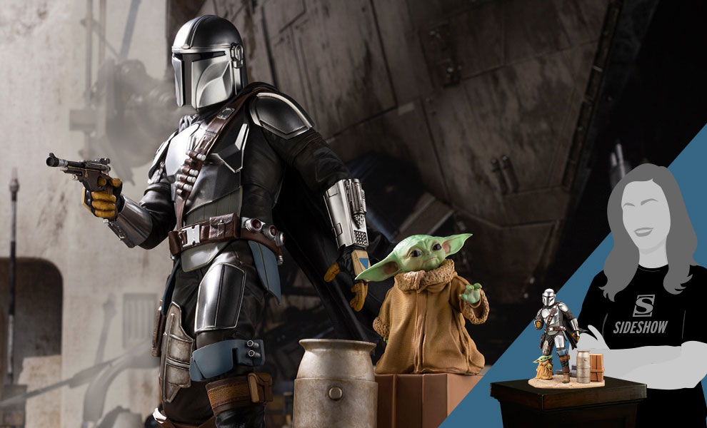 Gallery Feature Image of ARTFX Mandalorian & The Child Statue - Click to open image gallery
