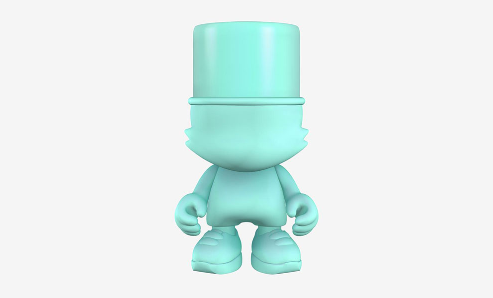 Gallery Feature Image of Seafoam UberKranky Designer Collectible Toy - Click to open image gallery