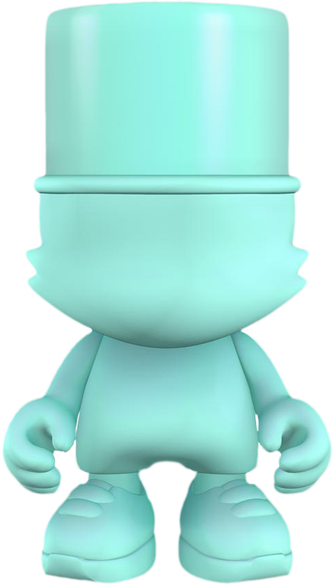 Superplastic Seafoam UberKranky Designer Collectible Toy