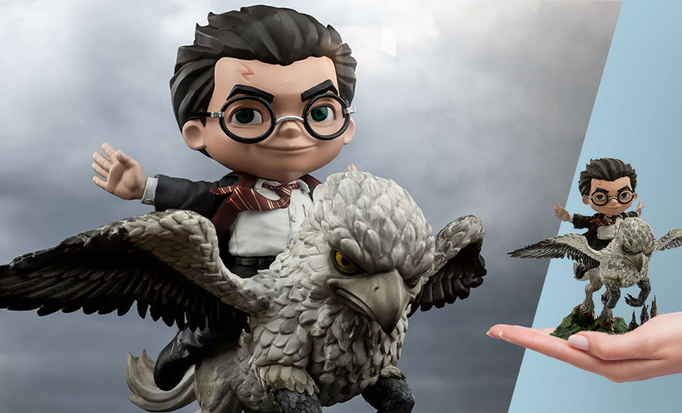 Gallery Feature Image of Harry Potter & Buckbeak Mini Co. Collectible Figure - Click to open image gallery