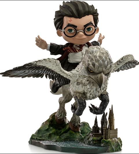 Iron Studios Harry Potter & Buckbeak Mini Co. Collectible Figure