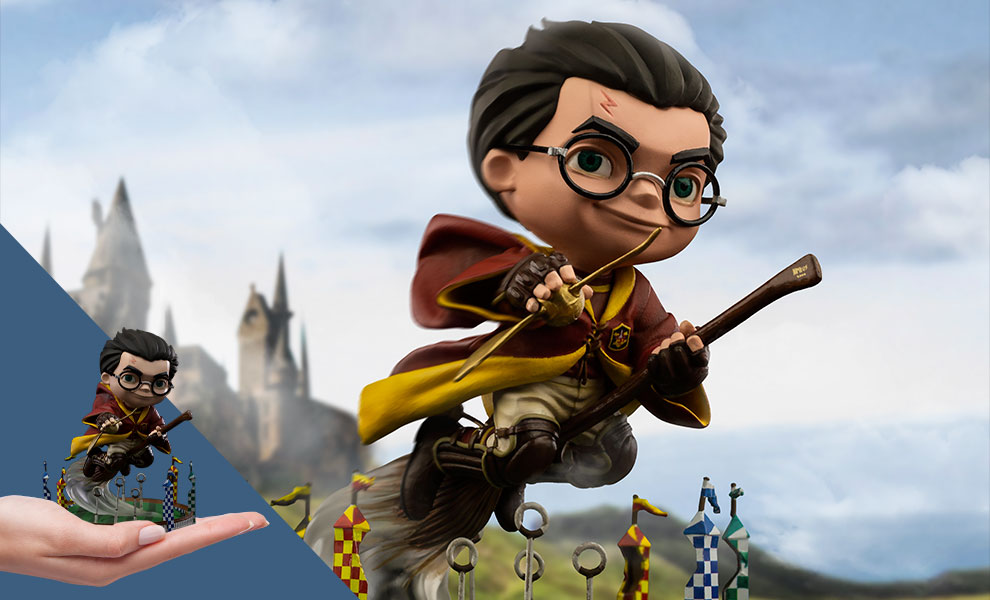 Gallery Feature Image of Harry Potter at the Quidditch Match Mini Co. Collectible Figure - Click to open image gallery