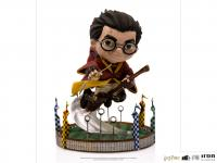 Gallery Image of Harry Potter at the Quidditch Match Mini Co. Collectible Figure