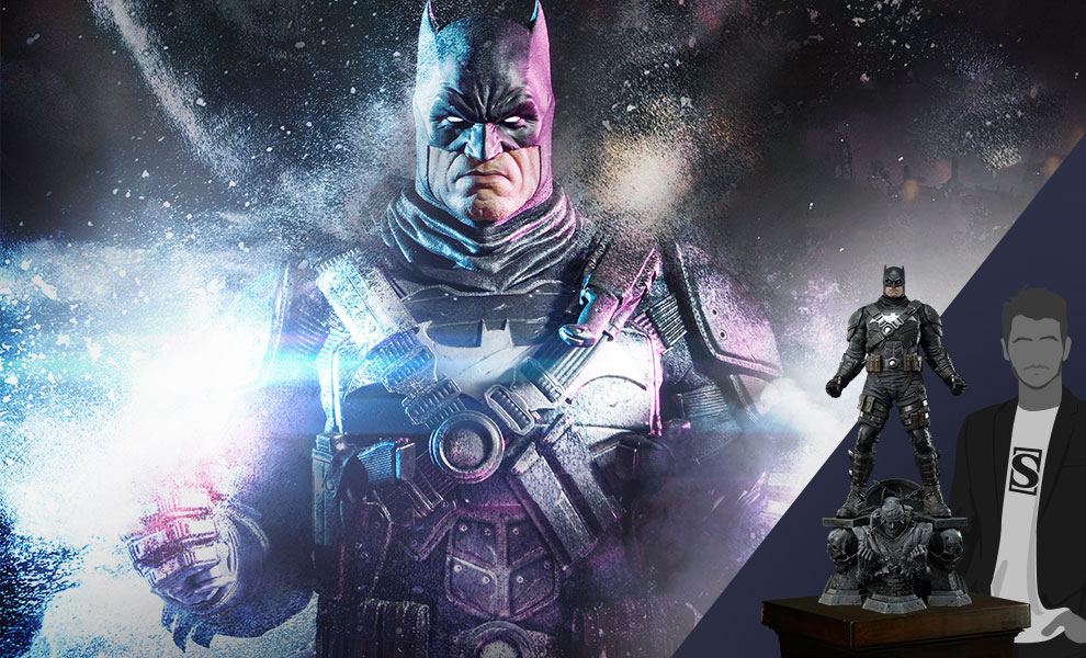 Gallery Feature Image of The Grim Knight Statue - Click to open image gallery