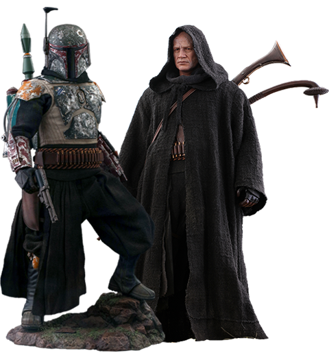 Hot Toys Boba Fett™ (Deluxe Version) Sixth Scale Figure Set