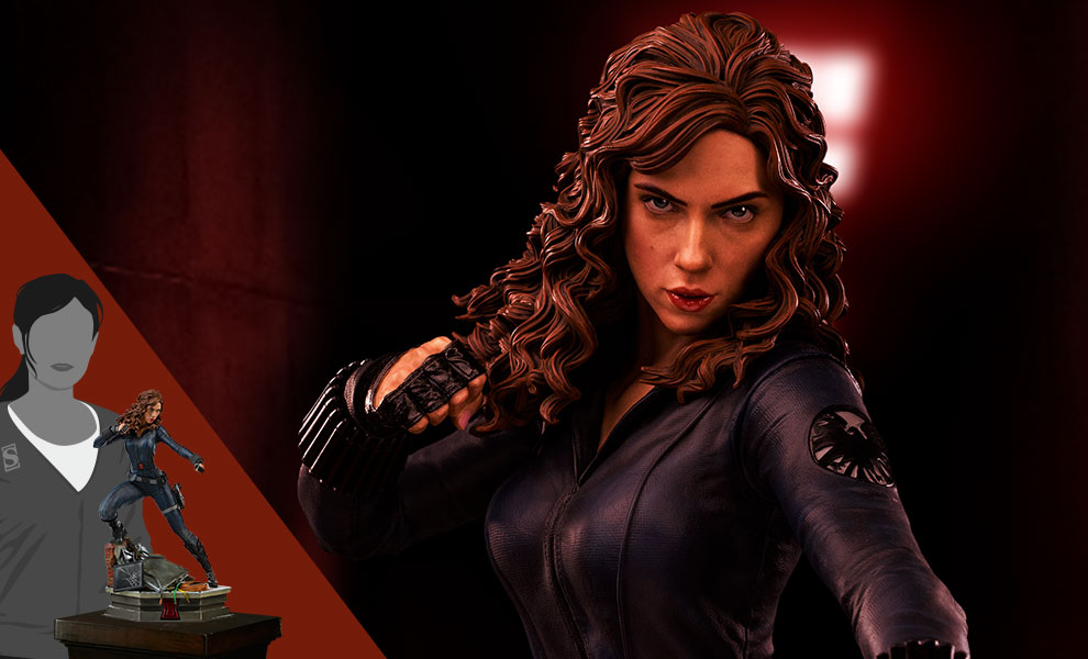 Gallery Feature Image of Black Widow Statue - Click to open image gallery