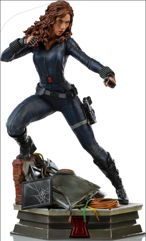 Iron Studios Black Widow Statue