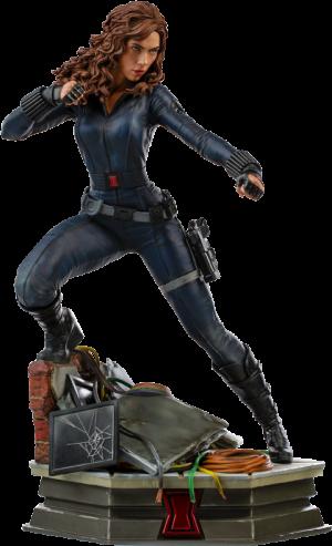 Black Widow Statue