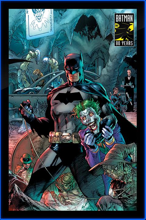 Brandlite Batman 80 LED Poster Sign (Large) Wall Light