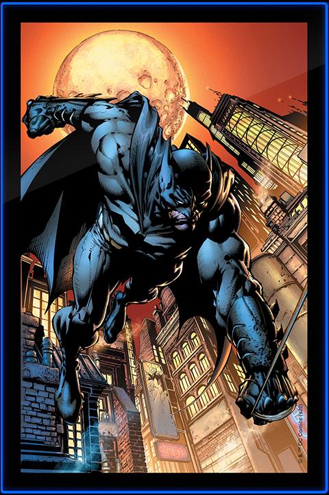 Brandlite Batman LED Poster Sign (Large) Wall Light