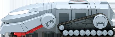 Super 7 ThunderTank Scaled Replica