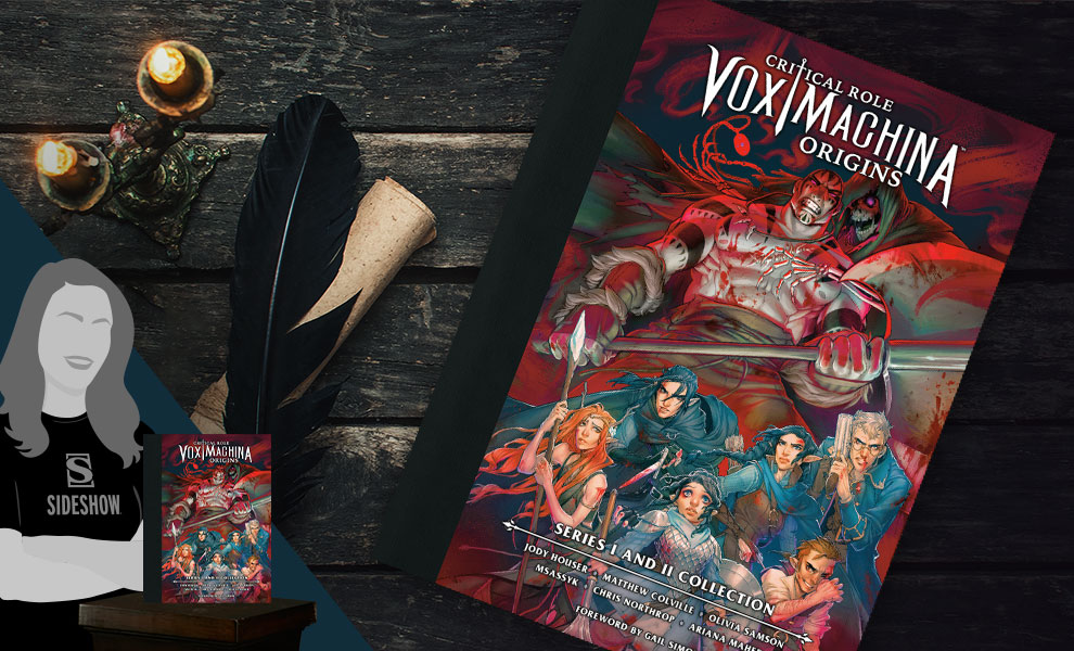 Gallery Feature Image of Critical Role Vox Machina Origins Series I and II Library Book - Click to open image gallery