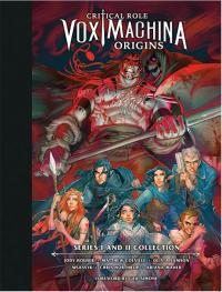 Gallery Image of Critical Role Vox Machina Origins Series I and II Library Book