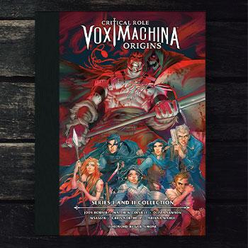 Critical Role Vox Machina Origins Series I and II Library Book