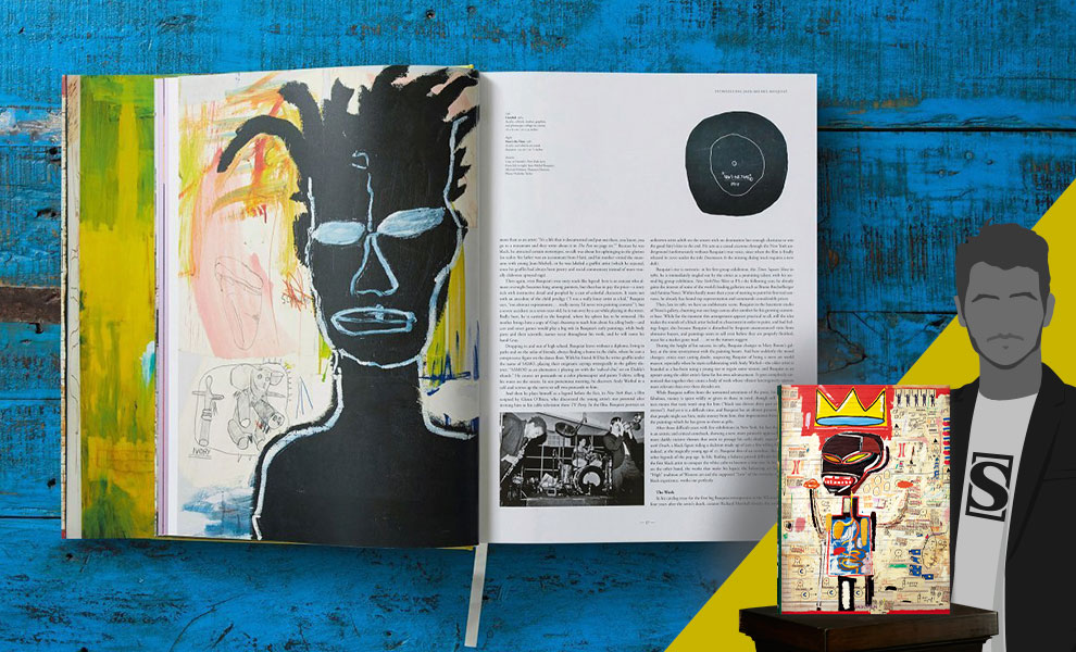 Gallery Feature Image of Jean-Michel Basquiat XXL Book - Click to open image gallery
