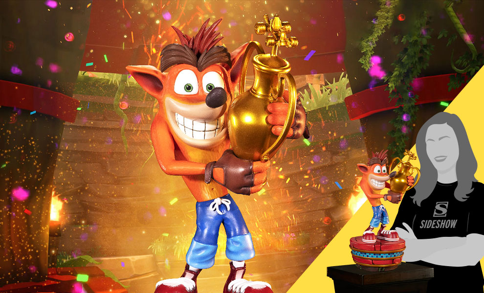 Gallery Feature Image of Crash (Winner) (Standard Edition) Statue - Click to open image gallery