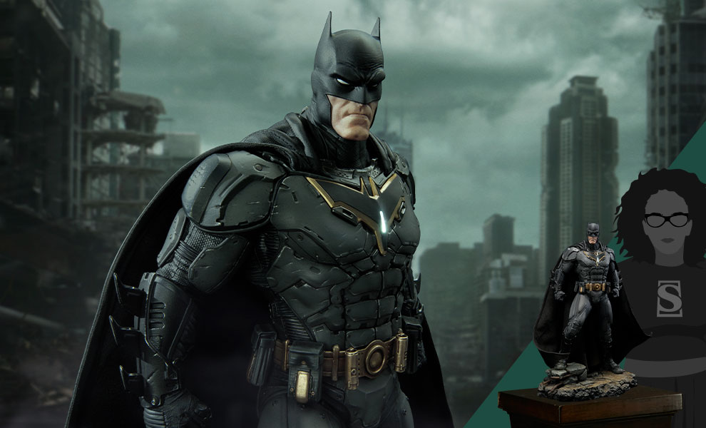 Gallery Feature Image of Batman Advanced Suit Statue - Click to open image gallery