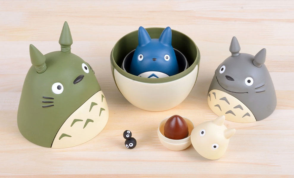 Gallery Feature Image of Totoro Nesting Dolls Collectible Set - Click to open image gallery