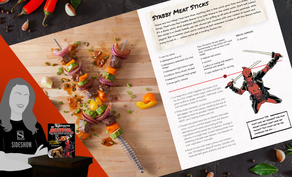 Gallery Feature Image of Marvel Comics: Cooking with Deadpool Book - Click to open image gallery