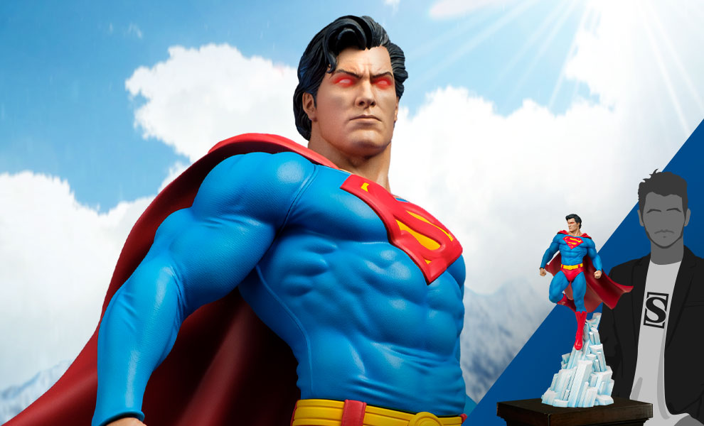 Gallery Feature Image of Superman Maquette - Click to open image gallery