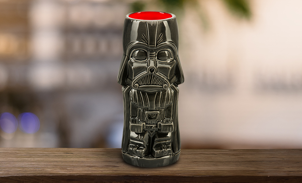 Gallery Feature Image of Darth Vader Tiki Mug - Click to open image gallery
