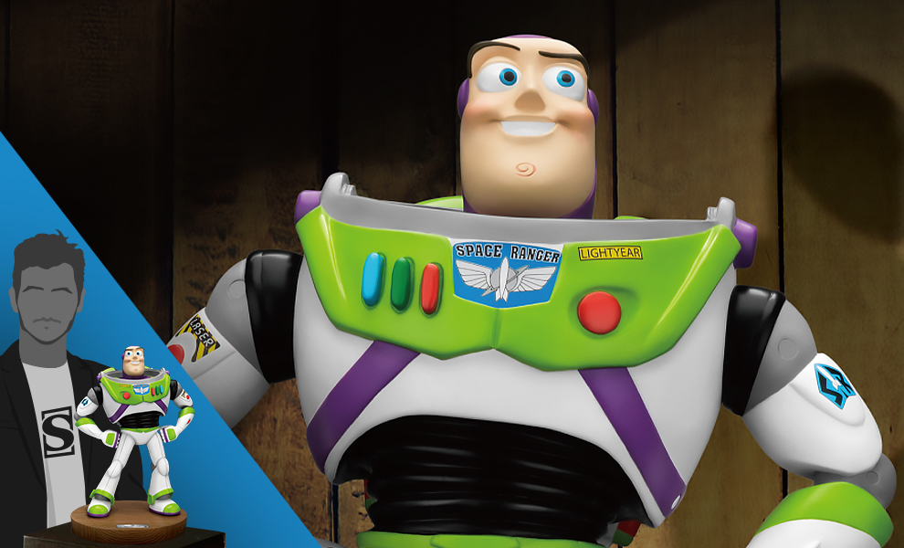 Gallery Feature Image of Buzz Lightyear Polystone Statue - Click to open image gallery