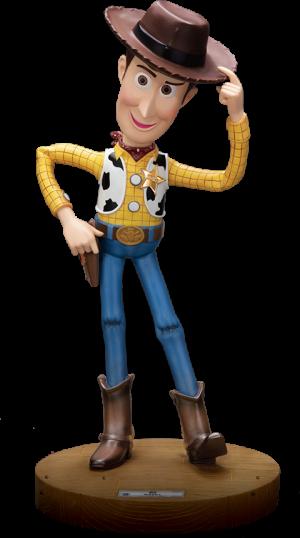 Woody Polystone Statue