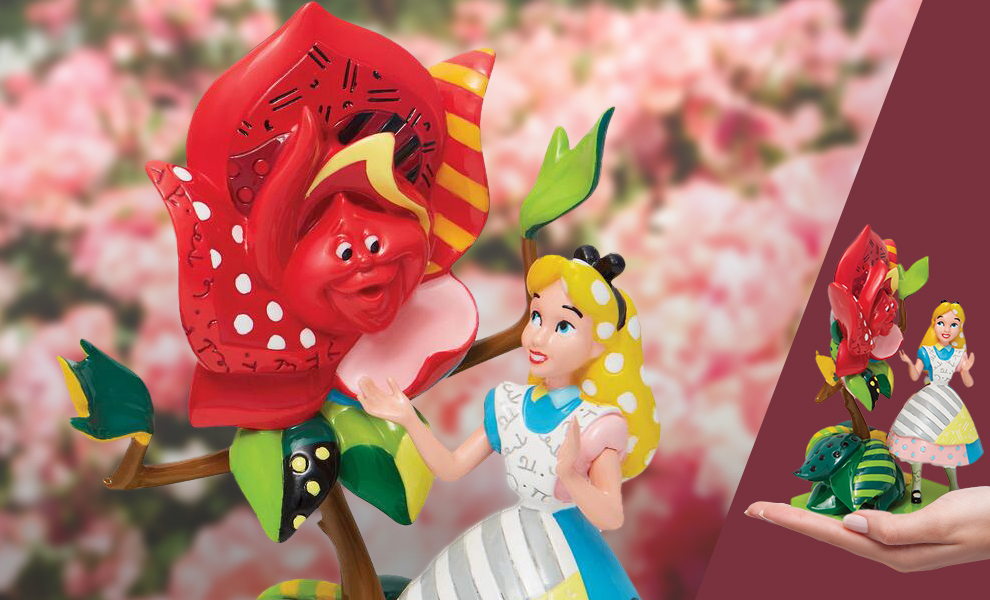 Gallery Feature Image of Alice in Wonderland Figurine - Click to open image gallery