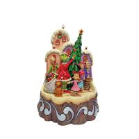 Gallery Image of Carved by Heart Grinch Figurine