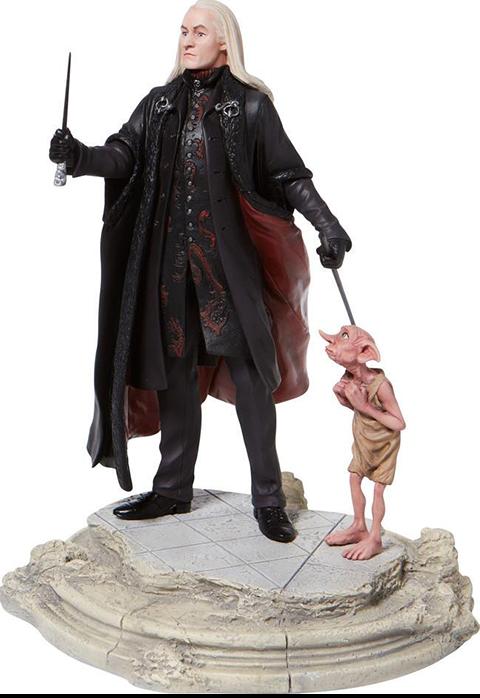 Enesco, LLC Lucious Malfoy with Dobby Figurine