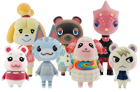 Animal Crossing: New Horizons Villager Collection Set by Bandai