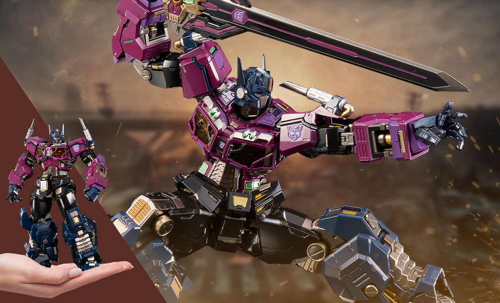 Gallery Feature Image of Shattered Glass Optimus Prime Collectible Figure - Click to open image gallery