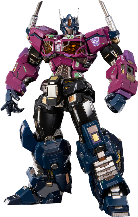 Flame Toys Shattered Glass Optimus Prime Collectible Figure