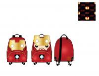 Gallery Image of Iron Man Light-Up Mini Backpack Apparel