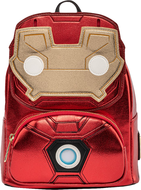 Loungefly Iron Man Light-Up Mini Backpack Apparel
