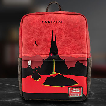 Mustafar Square Mini Backpack Apparel
